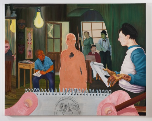 "Nicole Eisenman ""The Drawing Class"""