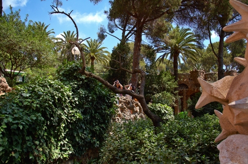 Parc Guell, present day